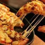 Быстрая майонезная пицца