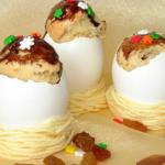 Кексы с изюмом в яичной скорлупеhttp://eda.parafraz.space/