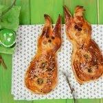 Пасхальные зайцы с мясной начинкой http://eda.parafraz.space/