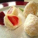 Кокосовые яйца с клубникой http://eda.parafraz.space/