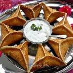 Катаеф с грибами и сыром (арабские блины)