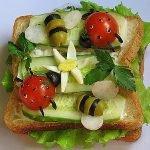 Бутерброды открытые: идеи и рецепты