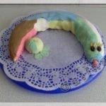 Торт «Веселый Змей» из бисквитной крошки