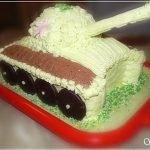 Торт с суфле «Тяжелый танк»
