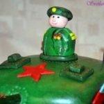 Как сделать торт «Танк» из кондитерской  мастики (МК)