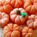 Тыковки из кондитерской мастики или помадки