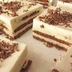 «Нежность» — торт без выпечки с творожным кремом