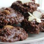 Быстрое шоколадно-овсяное печенье без выпечки