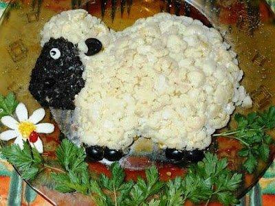 http://eda.parafraz.space/, Снеговики из безе для новогоднего стола Салаты — тематическая подборка рецептов и идей
