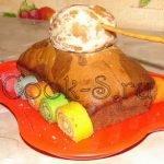 Торт-кекс «Танк» к 23 февраля