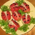 Салат «Божьи коровки» с сардинами