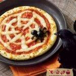 Паучья пицца на Хэллоуин