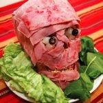 «Мясная голова» — самое потрясающее блюдо на Хэллоуин! (рецепт)