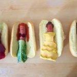 Диснеевские принцессы — оформление бутербродов