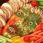 «Лицо зомби» — закуска из сыра