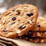 Диетическое овсяное печенье на кефире