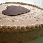 Торт шоколадный «Сердце» с двойным муссом