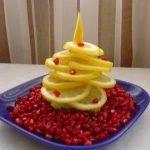Ёлочка из лимона, лайма или других цитрусовых