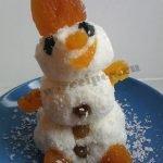 «Творожные Снеговички» — новогодний десерт