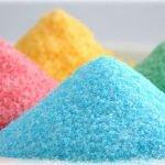 Как приготовить цветную сахарную посыпку