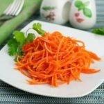 Морковь по-корейски с приправой
