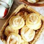 Печенье «Розочки» с прослойкой из безе