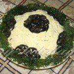 Греческий салат «Футбольный мяч» с брынзой