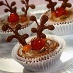 «Рудольф» — новогодние шоколадные пирожные