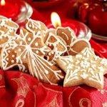 «Пряное» — новогоднее печенье с шоколадной помадкой