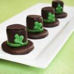 «Шляпа Лепрекона» из печенья и зефира