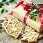 «Новогоднее» — имбирное печенье