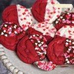 Печенье «Красный бархат» в шоколаде