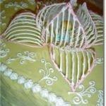 Цветок из айсинга для торта (МК)