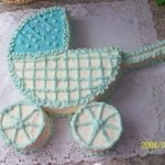 """Быстрый торт """"Детская коляска"""""""
