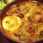 Солянка с маслинами