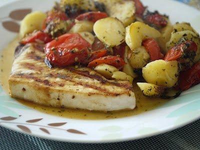 рыба, рыба в духовке, рыба запечённая, рыба с овощами, рецепты, рецепты рыбные, вторые блюда, блюда горячие,