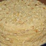 Торт «Наполеон» с заварным кремом (сковороде)