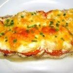 Рыба «Мечта» с помидораит и сыром