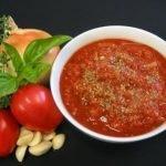 Острый томатный соус с перцами хабанеро