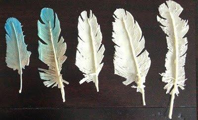 Как сделать шоколадные перья для украшения десертов? - рецепты и идеи