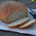 Пшеничный хлеб с гречкой