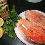 Пряный шашлык из рыбы
