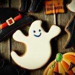 Печенье «Привидения» с помадкой