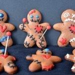 Печенье «Вуду» на Хэллоуин