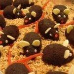 Шоколадные мышки - пирожные без выпечки