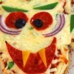 """Быстрая пицца """"Дракула"""" на Хэллоуин"""