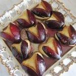 Печенье со сливой «Сердечки»