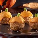 Картофельные «тыквы» в крекерной крошке