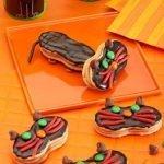 «Черная кошка» из печенья и шоколада