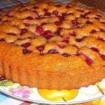 Простой заливной пирог